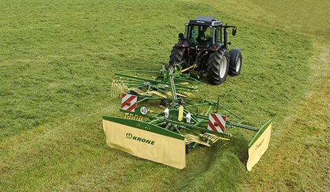 Krone Rotorriver - Swadro 2-roteret-sideriver
